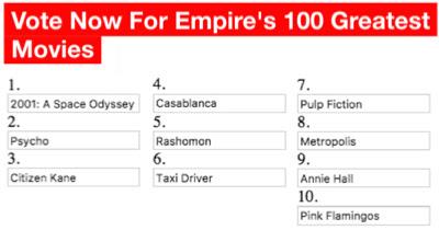Empire's 100 Greatest Movies