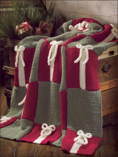 Garter Stitch Gift Afghan