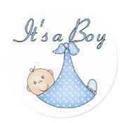 It's a Boy stickers sticker