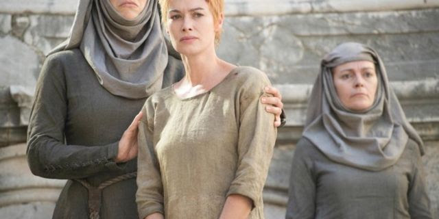 game of thrones cersei nude walk