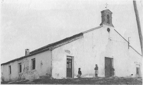 Antigua ermita del Barrio de Santa Bárbara hacia 1950