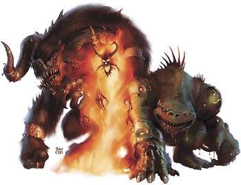 Barlgura Ape Demon