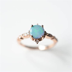 Maya Australian Opal Ring ? Sunday Island