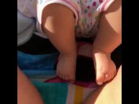 Βασιλική Ανδρίτσου: Το πιο γλυκό βίντεο της κορούλας της