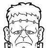 Frankenstein Clipart Black And White