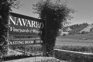 Navarro Vineyards and Winery - Sign