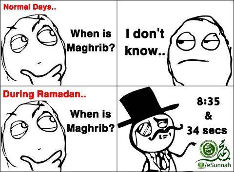 During Ramadhan