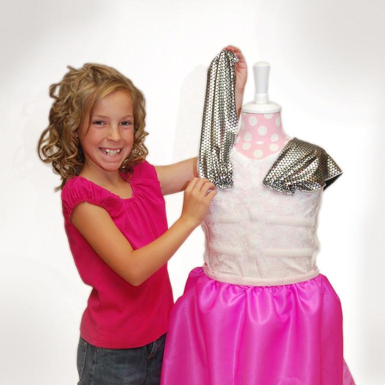 Fashion Kit For Girls Costumes Shailie Make Your Own Dress Momstart