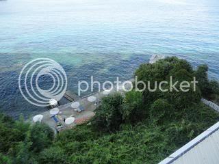 Oasis Hotel private beach area