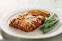 Layered Italian Meatloaf, Food, Beef, Meats, Cooking, Restaurants, FX777, FX777222999, Italian