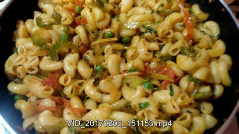 veg macaroni indian style recipes indian style masala