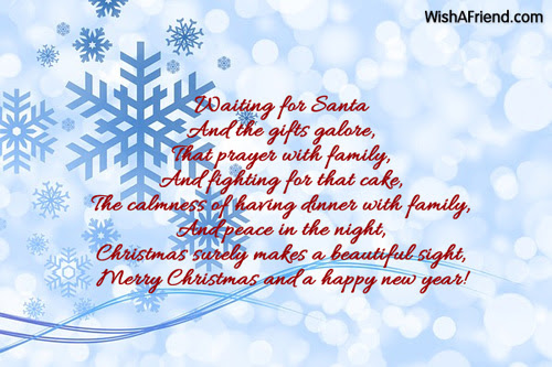 Christmas greetings for my loved ones sinter d christmas wishes m4hsunfo