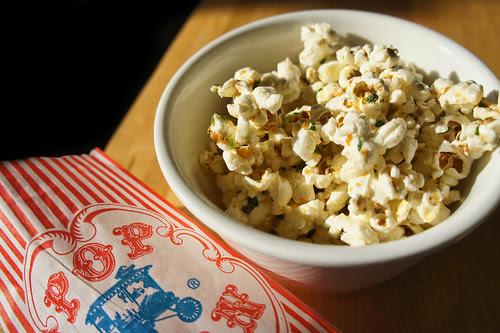 Garlic Truffled Popcorn! The Best!