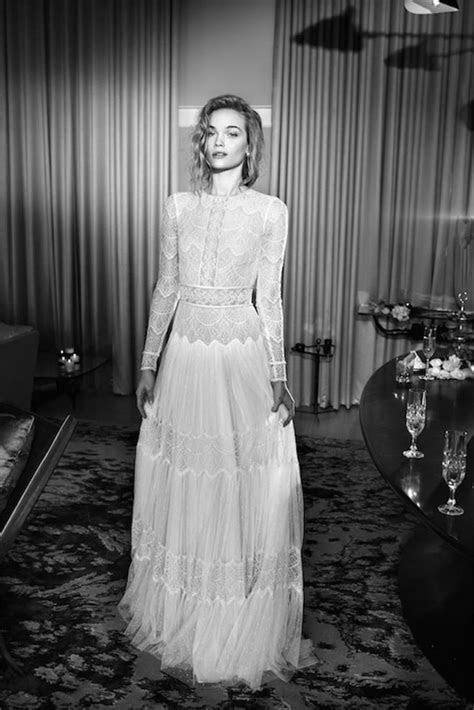 40  Lush Long Sleeve Wedding Dresses   weddingsonline