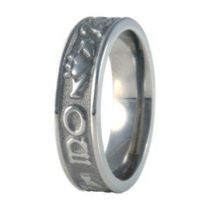 Soul Mate Mo Anam Cara Men's Titanium Ring   Men's