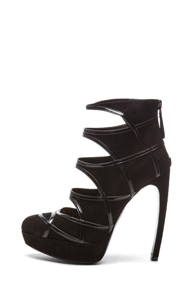 Shoeniverse Dream Shoes Alexander Mcqueen Black High