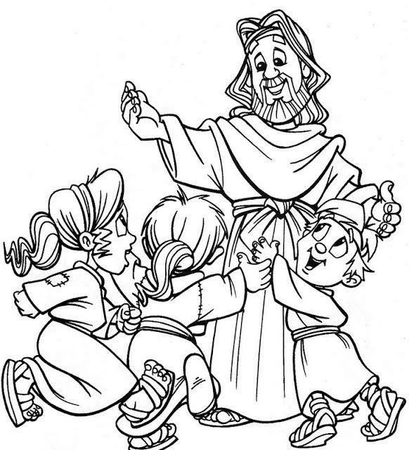 Imágenes De La Familia De Jesús Para Colorear Recurso Educativo