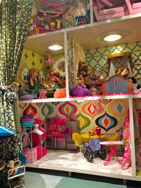 barbie style american girl doll house doors