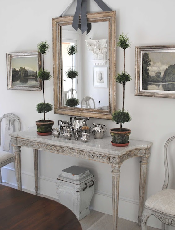 Swedish Console Table - Cottage - dining room - Loi Thai