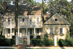 Colonial Floor Plans - Colonial Designs from FloorPlans.