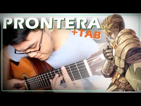 Ragnarok Online - Theme of Prontera - Guitar Tab