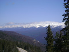 View From Berthoud Pass.