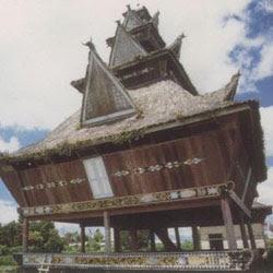 Sketsa Gambar Rumah Adat Bali - Rumah Adat Indonesia