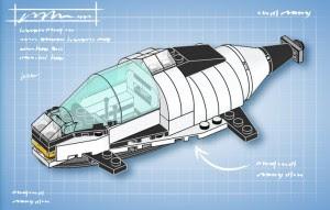 Free LEGO Submarine Mini Build
