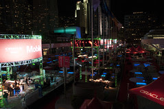 Welcome Reception, Oracle Plaza @ Howard Street, Oracle OpenWorld 2013