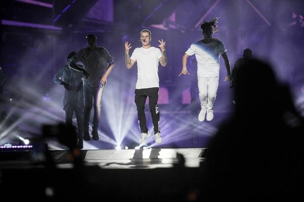 Show Justin Bierber (Foto: Anderson Barros / Ego)