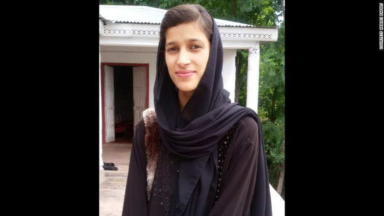 Maria Abbasi was baby-sitting a younger sister near Murree, Pakistan, when she was attacked, her family says.