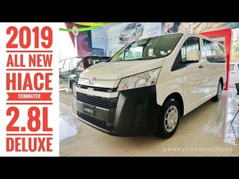 2019 Toyota HIACE Commuter 2.8L Deluxe MT | Full Walk Around w/ Interior...