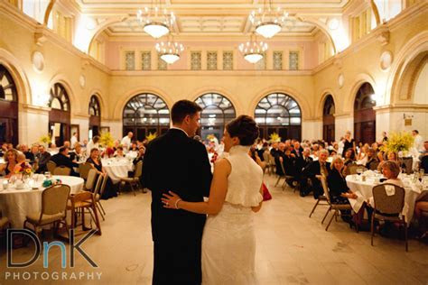 Tate and Amy's Wedding at the Depot Minneapolis   DnK