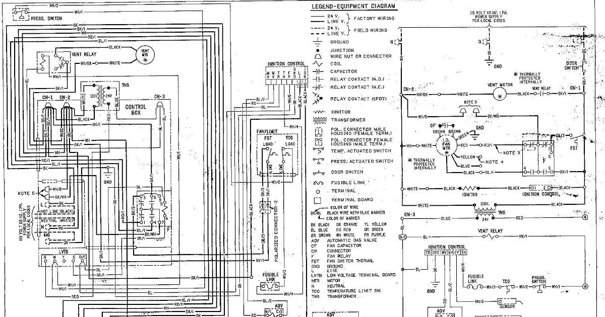 Goodman Heat Pump Wiring Diagram Schematic