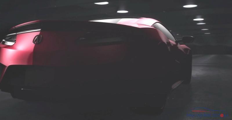 2017 Acura Honda Nsx Modified And Sports Cars