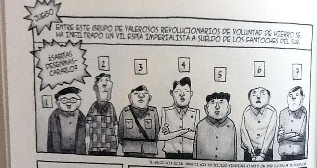 Viñeta de Pyongyang - Juego01