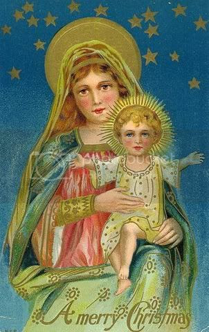 Vintage Christmas/ Jesus & Mary Pictures, Images and Photos