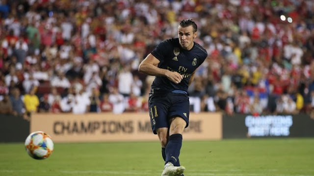 Madrid 2- 2 Arsenal... Bale to the rescue