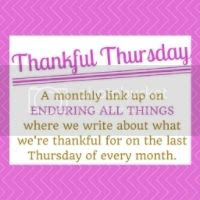 Thankful Thursday Party | Enduring All Things