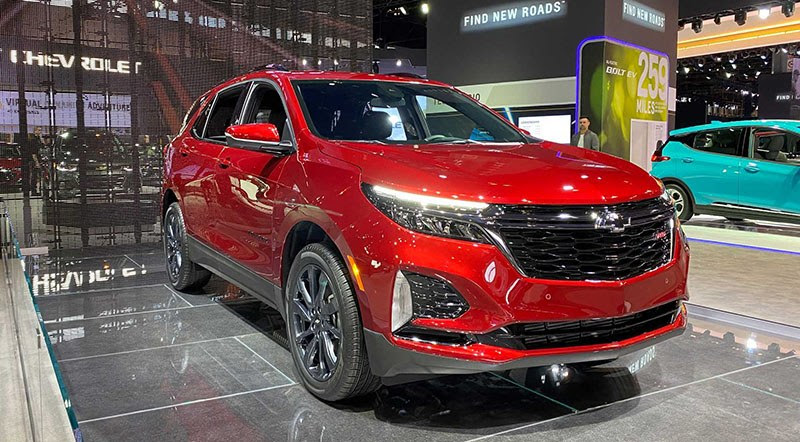 2021 chevy equinox gets an updated look new trim  motoraty