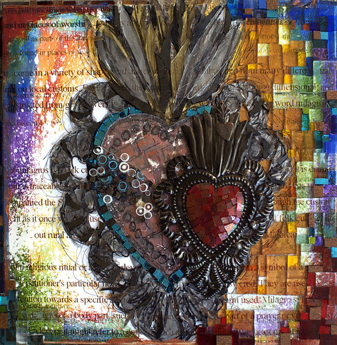 Milagro Sacred Heart WIP by artpaw [rebecca collins]