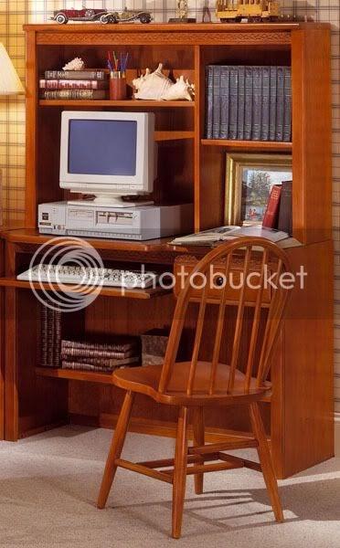 Cl sica y moderna mesa de ordenador decoracion interiores for Decoracion clasica moderna interiores