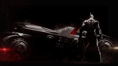 full hd wallpaper batman arkham knight armor batmobile