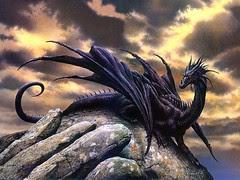 black dragon by vanhelsingrrr