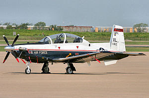 English: 47th Operations Group T-6 Texan II, L...