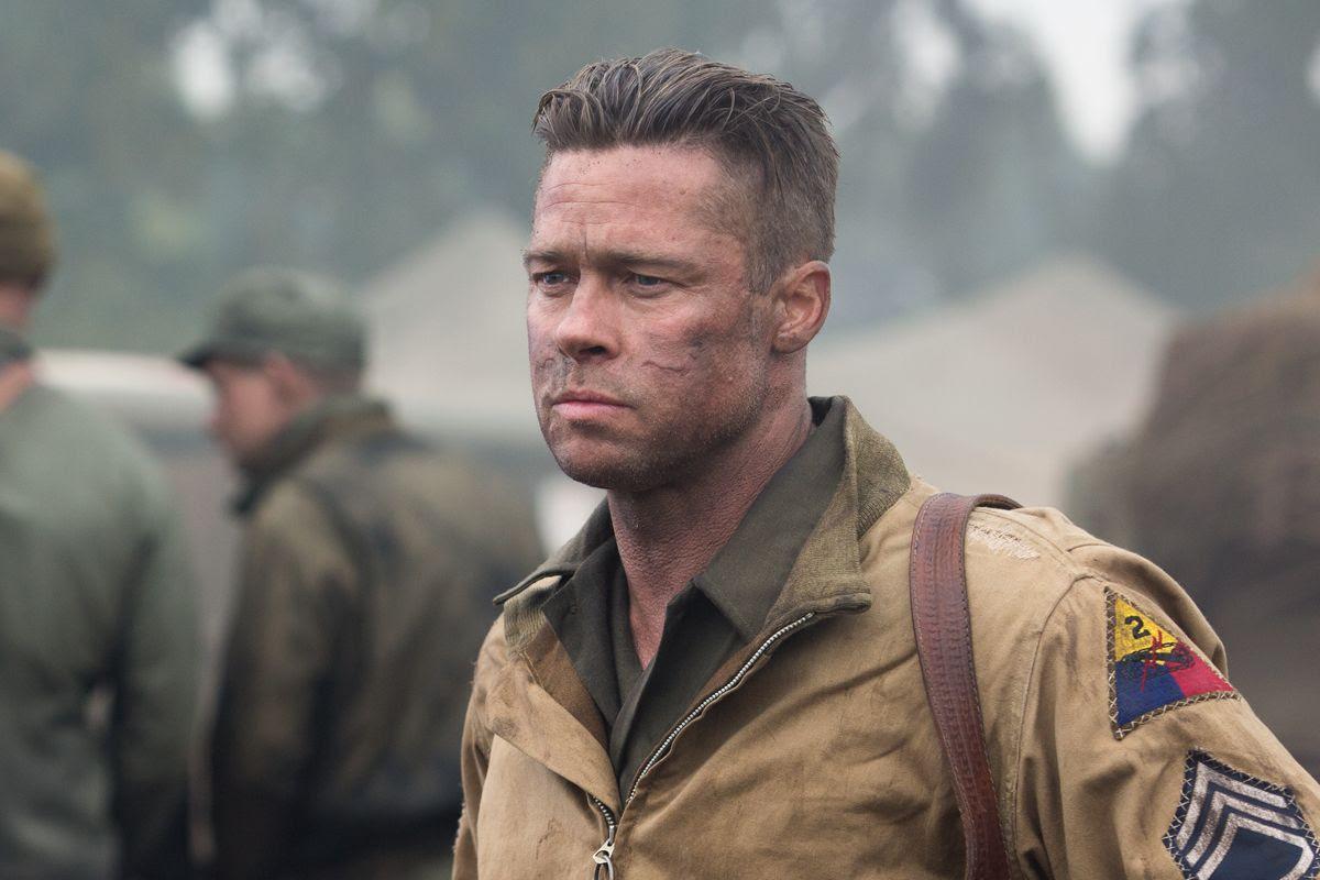 Brad Pitt : Fury photo BradPIttCloseFury.jpg
