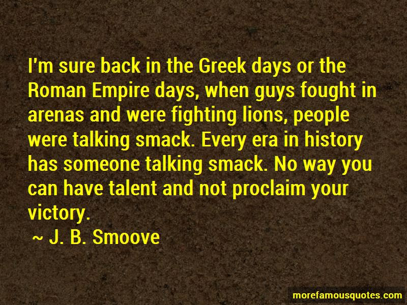 Smack Talking Quotes Top 5 Quotes About Smack Talking From Famous