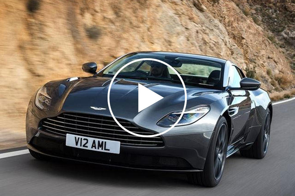 The Twin Turbo V12 Aston Martin Db11 Has Arrived So How Does It Sound Carbuzz