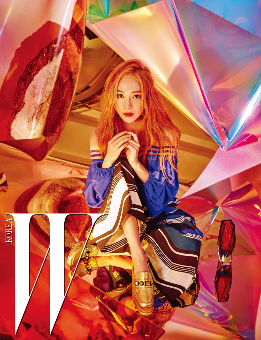 Jessica - W Magazine January Issue '17