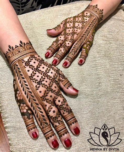 30 Flaunt worthy Back Hand Mehendi Designs Indian Brides